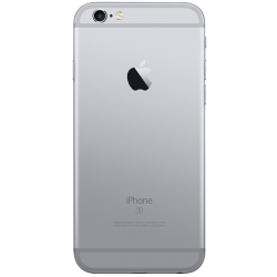 6S Space Grey Traseira