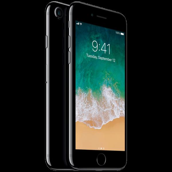 iPhone 7 JetBlack (Frente e traseira)