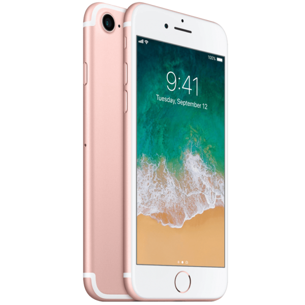 iPhone 7 Rose (Frente e traseira)