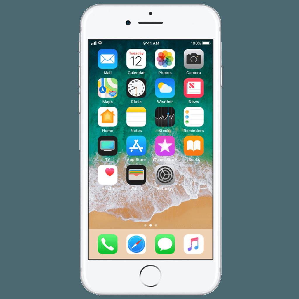 iphone 7 Silver frente