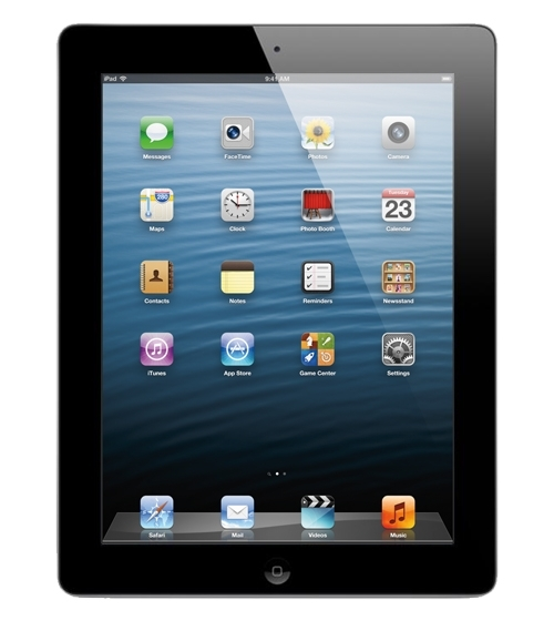 iPad 4_Preto (Frente)
