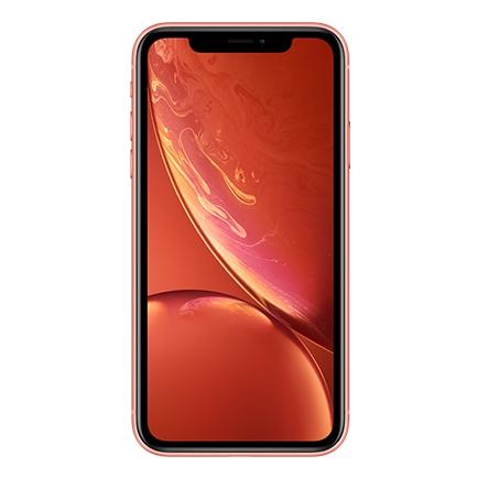 iPhone XR 64GB Coral O iPhone XR foi lançado em 2018 e chega como modelo mais barato linha da Apple. Clique aqui para ver as cores que temos disponíveis. Especificações: Chipset - Apple A12 Bionic (7 nm) Processador CPU - 6-core (2x2.5 GHz Vortex + 4x1.6 GHz Tempest) Processador Gráfico: GPU - Apple GPU (4-core graphics) Memória Externa: Não Memória Interna: 64GB Dimensões (AxLxP): 150.9 Х 75.7 Х 8.3 mm Peso 194 g Design: Painel frontal e traseiro de vidro, moldura de alumínio (7000 series) Comunicação e Conectividade Cartão SIM: Nano-SIM, Electronic SIM card (eSIM) Rede GSM / CDMA / HSPA / EVDO / LTE GPRS: sim Edge: sim Wi-Fi: Wi-Fi 802.11 a/b/g/n/ac, Espera dupla, hotspot GPS sim, com A-GPS, GLONASS, GALILEO, QZSS NFC sim USB 2.0, proprietary conector reversível Bluetooth 5.0, A2DP, LE Áudio e Música Rádio não Jack de fones de ouvido: não Outros extras de áudio: - Cancelamento de ruído ativo com microfone dedicado - Altifalantes stereo Outras Especificações - Sensores - Face ID reconhecimento facial, Acelerómetro, Giroscópio, Sensor de proximidade, Bússola, Barómetro - Carregamento rápido da bateria: 50% por 30 minutos -Compatível com Carregamento sem fios -Siri natural language commands and dictation - IP67 Resistência a água e pó (até 1m por 30 min) -Apple Pay (Visa, MasterCard, AMEX certificado) Para saber mais sobre o iPhone XR 64GB Coral: https://www.apple.com/pt/shop/buy-iphone/iphone-xr